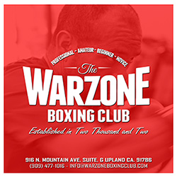 Warzone Boxing Club in Upland